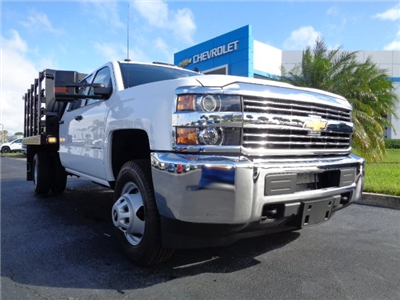 2018 Silverado 3500 Crew Cab DRW 4x2,  Knapheide Value-Master X Stake Bed #N8168 - photo 1
