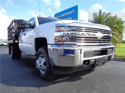 2018 Silverado 3500 Crew Cab DRW 4x2,  Knapheide Value-Master X Stake Bed #N8168 - photo 22