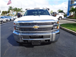 2018 Silverado 3500 Crew Cab DRW 4x2,  Knapheide Value-Master X Stake Bed #N8168 - photo 3