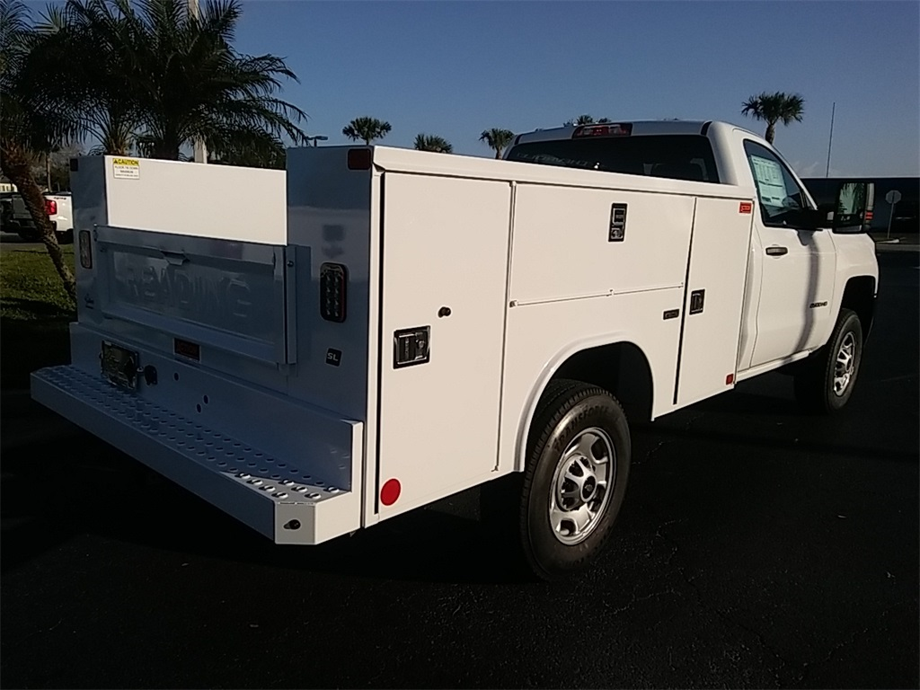 2018 Silverado 2500 Regular Cab 4x4, Service Body #N8486 - photo 2