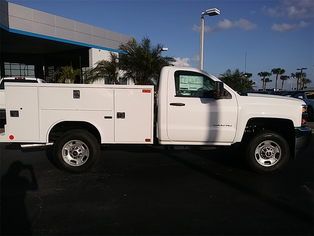 2018 Silverado 2500 Regular Cab 4x4, Service Body #N8486 - photo 12