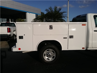 2018 Silverado 2500 Regular Cab 4x4, Service Body #N8486 - photo 10