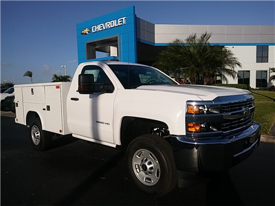 2018 Silverado 2500 Regular Cab 4x4, Service Body #N8486 - photo 1