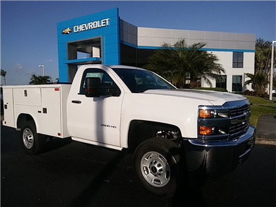 2018 Silverado 2500 Regular Cab 4x4, Service Body #N8486 - photo 3