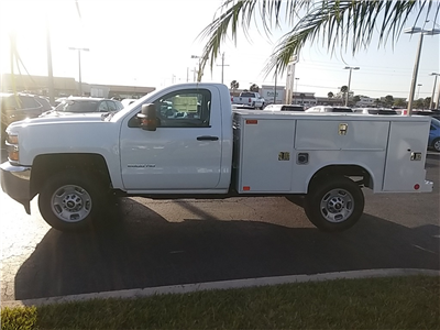 2018 Silverado 2500 Regular Cab 4x4, Service Body #N8486 - photo 6