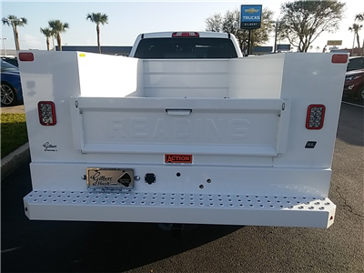 2018 Silverado 2500 Regular Cab 4x4, Service Body #N8486 - photo 9