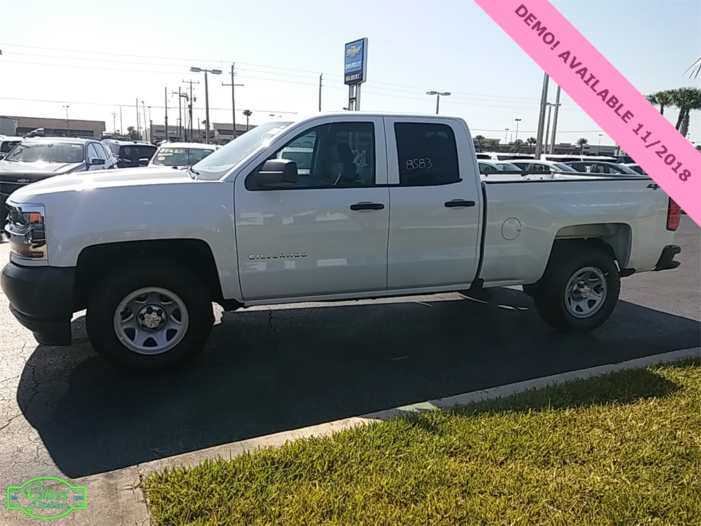 2018 Silverado 1500 Double Cab 4x4, Pickup #N8583 - photo 5
