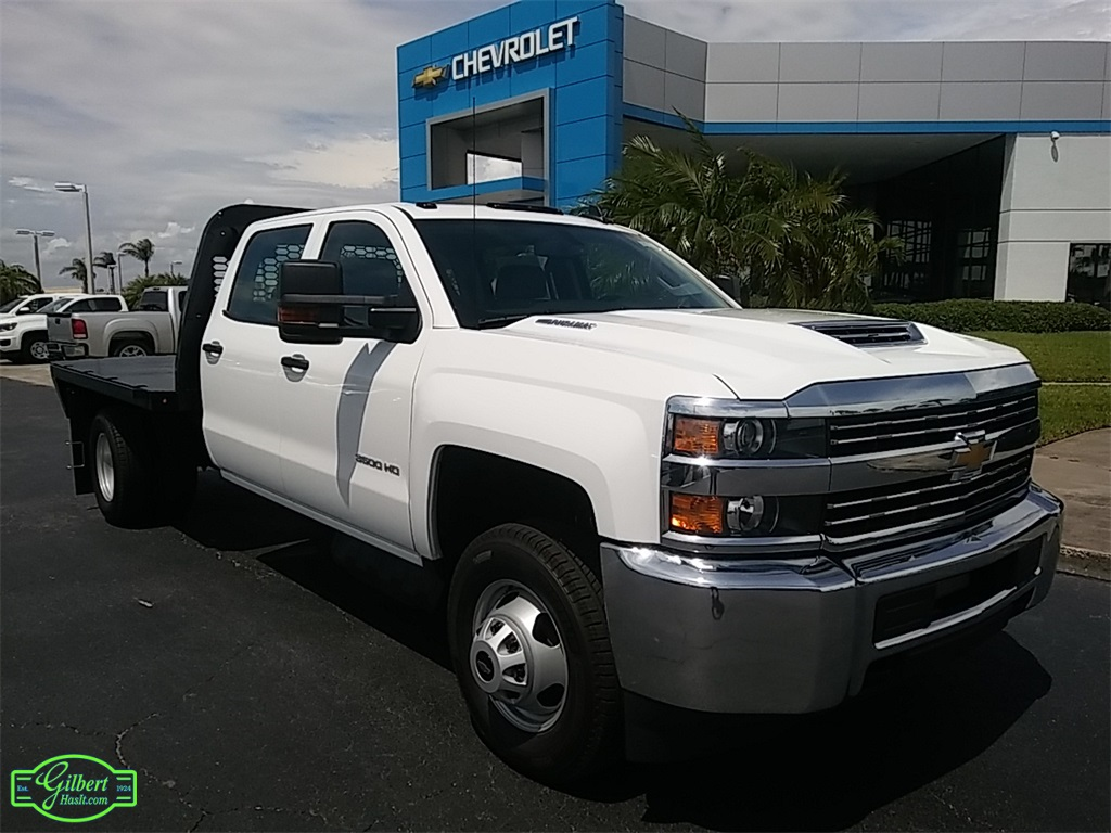 2018 Silverado 3500 Crew Cab DRW 4x4,  Platform Body #N8750 - photo 1