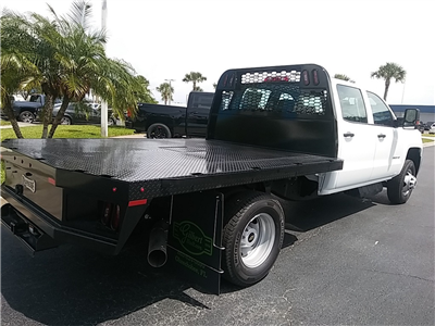 2018 Silverado 3500 Crew Cab DRW 4x4,  Platform Body #N8750 - photo 2