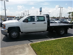 2018 Silverado 3500 Crew Cab DRW 4x4, Platform Body #N8750 - photo 5