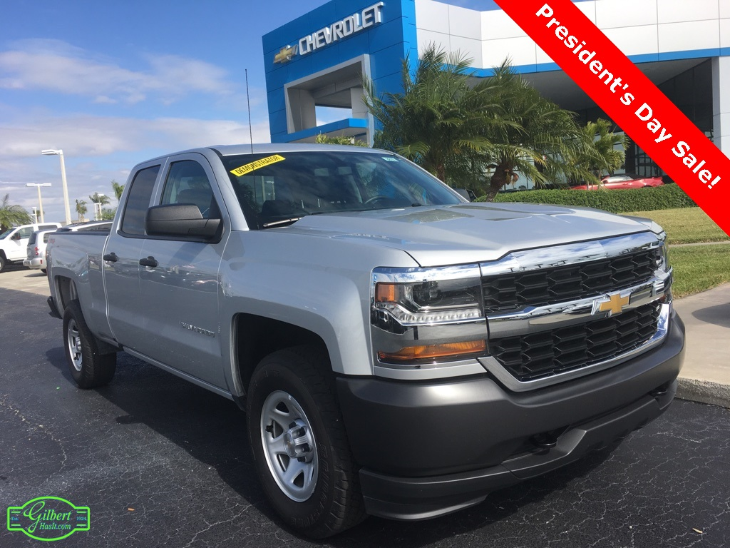 2018 Silverado 1500 Double Cab 4x4,  Pickup #N8810 - photo 1