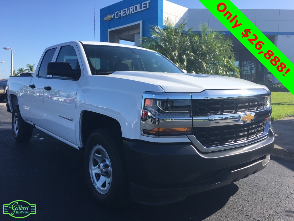 2018 Silverado 1500 Double Cab 4x2,  Pickup #N8947 - photo 1