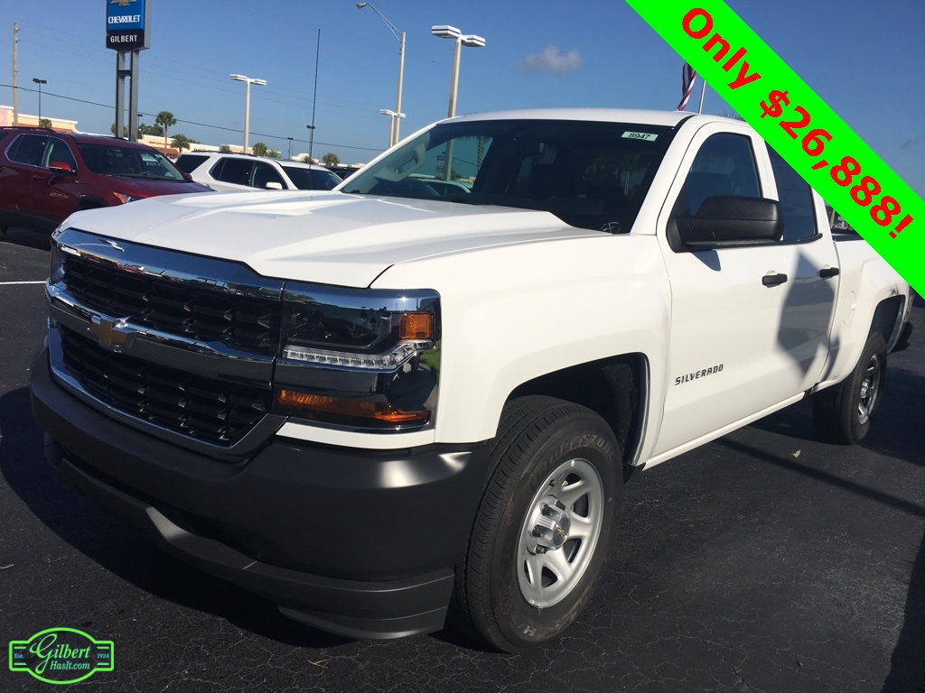2018 Silverado 1500 Double Cab 4x2,  Pickup #N8947 - photo 4