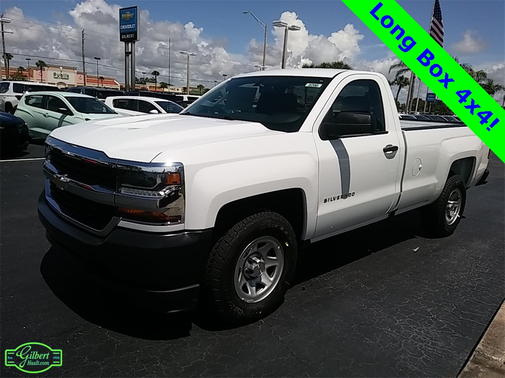 2018 Silverado 1500 Regular Cab 4x4, Pickup #NC8700 - photo 4