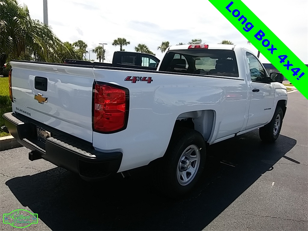 2018 Silverado 1500 Regular Cab 4x4, Pickup #NC8700 - photo 2