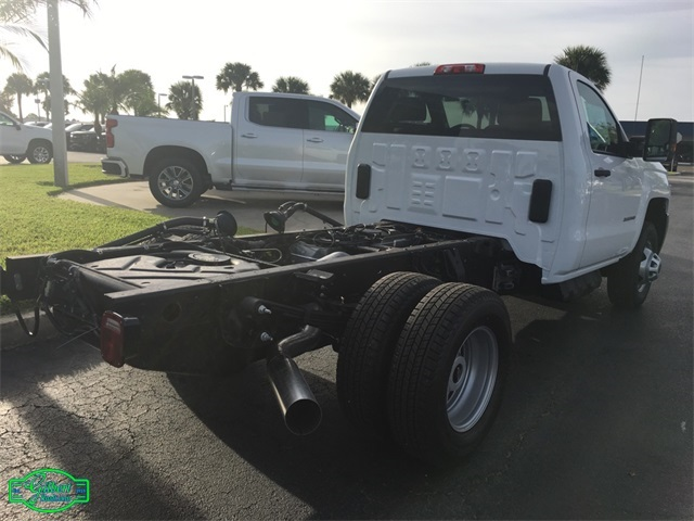 2019 Silverado 3500 Regular Cab DRW 4x4,  Cab Chassis #NC9133 - photo 13