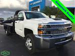 2019 Silverado 3500 Regular Cab DRW 4x4,  Knapheide Platform Body #NC9171 - photo 1