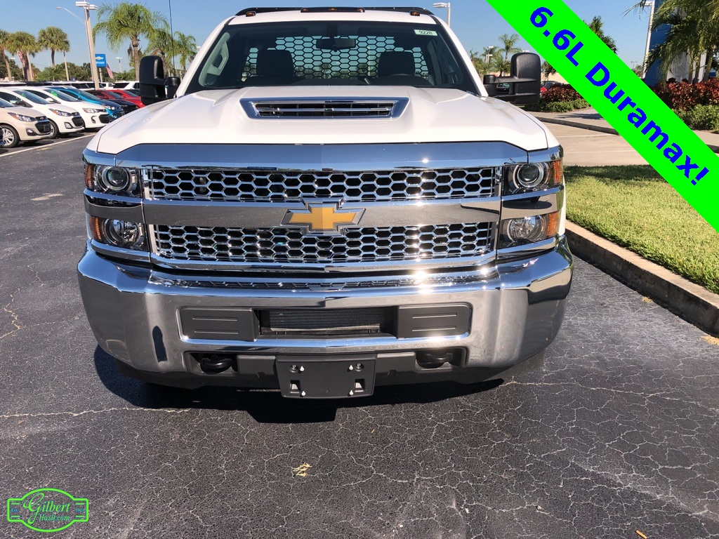 2019 Silverado 3500 Regular Cab DRW 4x4,  Knapheide Platform Body #NC9228 - photo 3