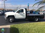 2019 Silverado 3500 Regular Cab DRW 4x4,  CM Truck Beds SK Model Platform Body #NC9229 - photo 5