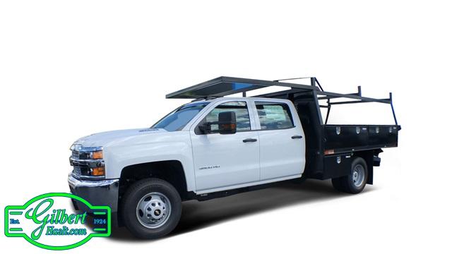 2019 Silverado 3500 Crew Cab DRW 4x4,  Action Fabrication Contractor Body #NC9624 - photo 1