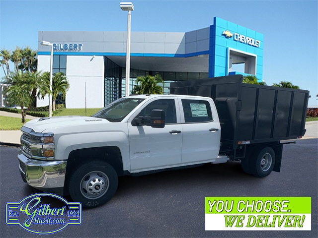 2019 Chevrolet Silverado 3500 Crew Cab DRW 4x4, Action Fabrication Landscape Dump #NC9626 - photo 1