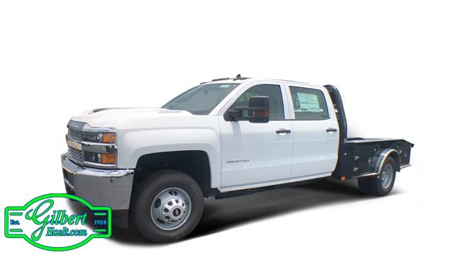 2019 Silverado 3500 Crew Cab DRW 4x4,  CM Truck Beds Hauler Body #NC9720 - photo 1