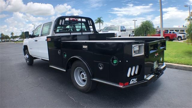 2019 Silverado 3500 Crew Cab DRW 4x4,  CM Truck Beds Platform Body #NC9728 - photo 1
