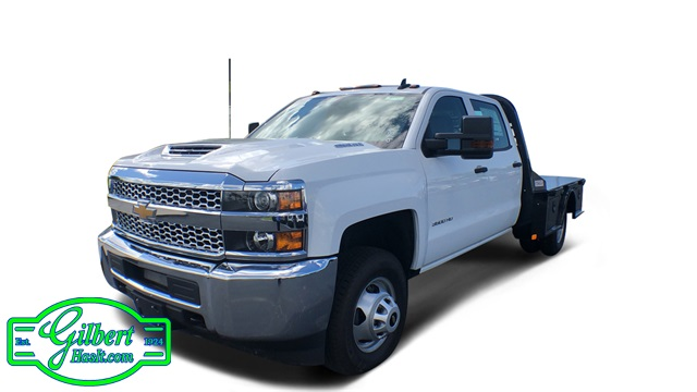 2019 Silverado 3500 Crew Cab DRW 4x4,  CM Truck Beds Platform Body #NC9737 - photo 1