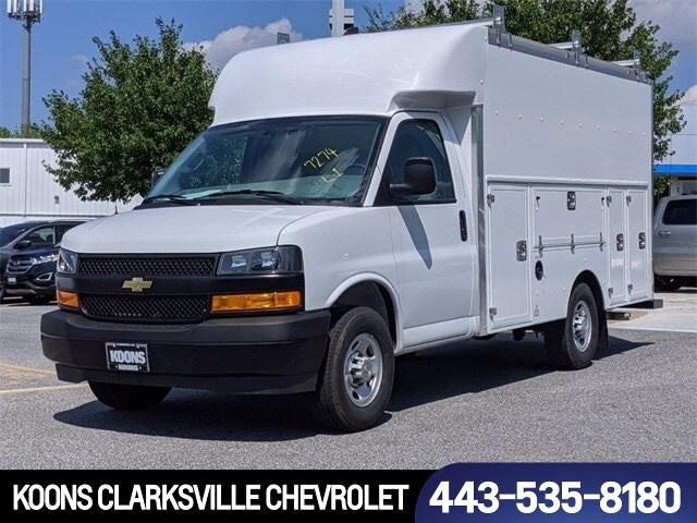 2020 Chevrolet Express 3500 4x2, Cutaway #0C007737 - photo 1