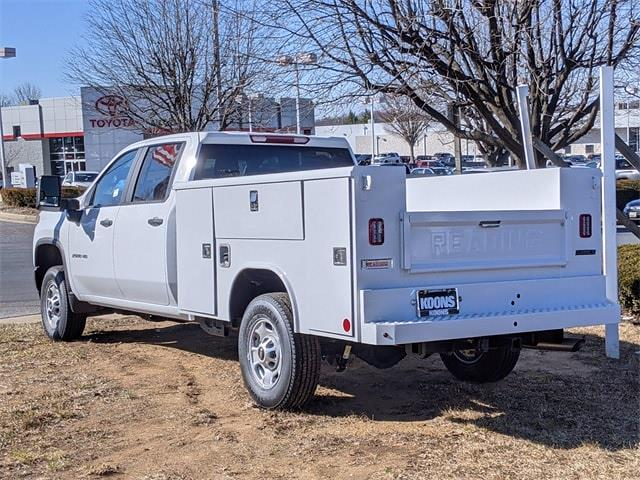 2021 Chevrolet Silverado 2500 Crew Cab 4x4, Reading Service Body #0C133593 - photo 1
