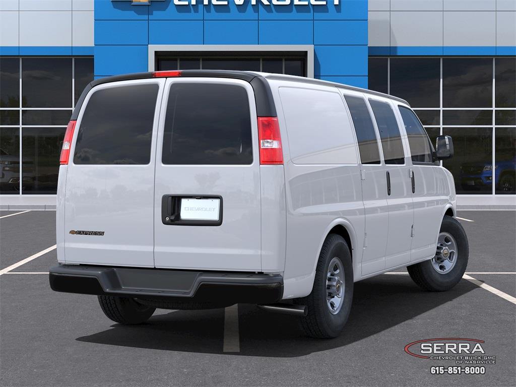 2021 Chevrolet Express 2500 4x2, Empty Cargo Van #C12691 - photo 2