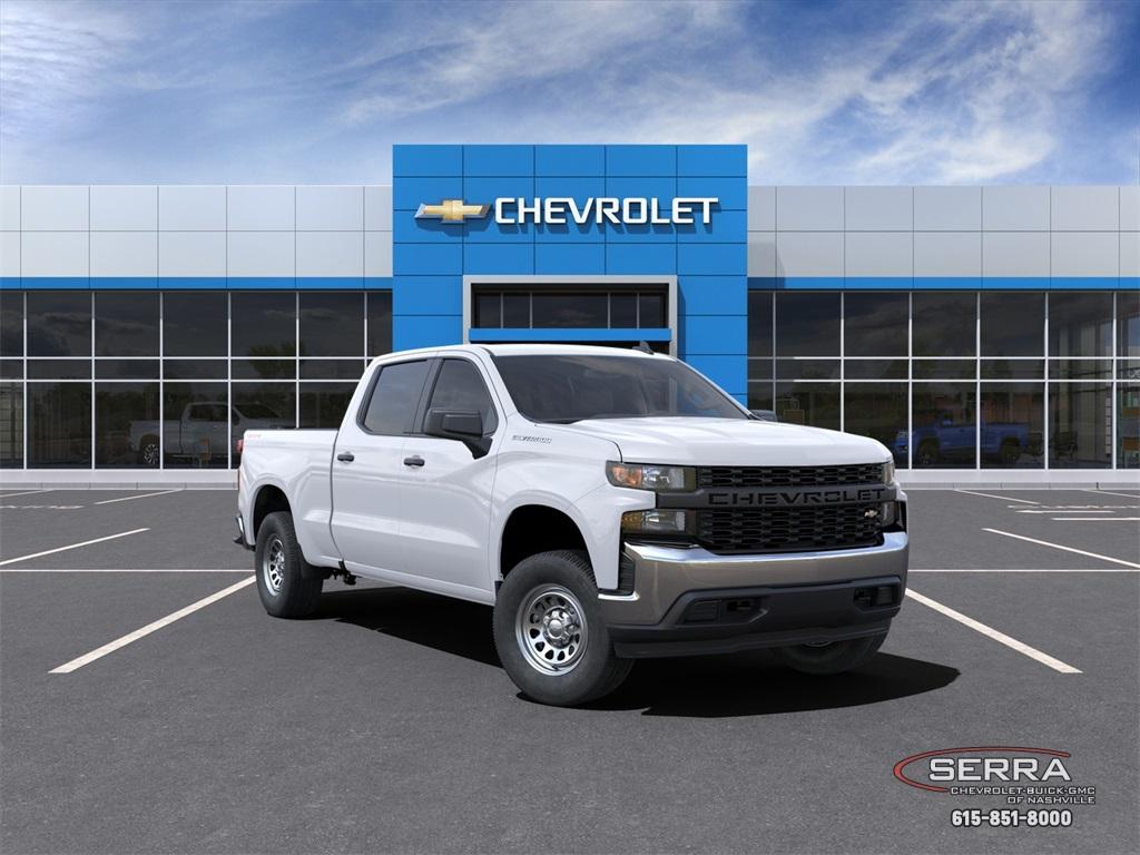 2021 Chevrolet Silverado 1500 Crew Cab 4x4, Pickup #C12576 - photo 1