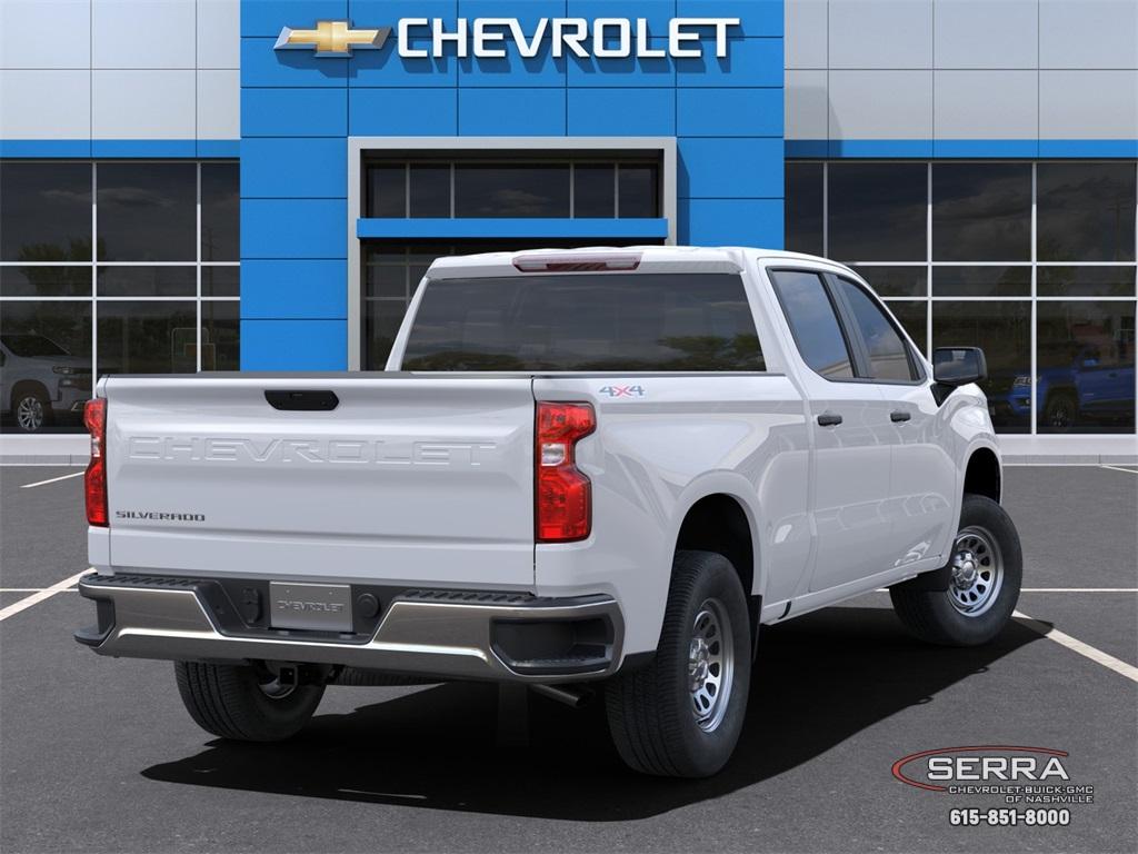 2021 Chevrolet Silverado 1500 Crew Cab 4x4, Pickup #C12576 - photo 2