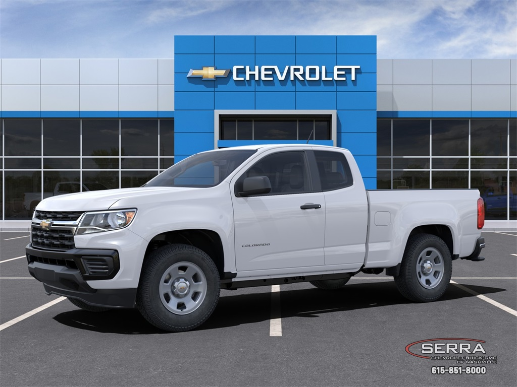 2021 Chevrolet Colorado Extended Cab 4x2, Pickup #C10043 - photo 3
