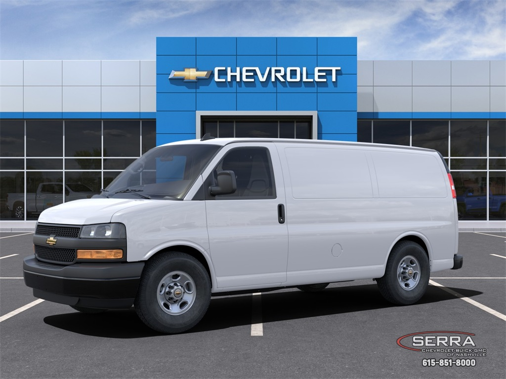 2021 Chevrolet Express 2500 4x2, Empty Cargo Van #C12513 - photo 3