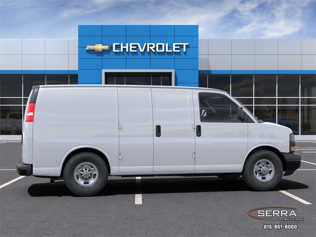 2021 Chevrolet Express 2500 4x2, Empty Cargo Van #C12513 - photo 5