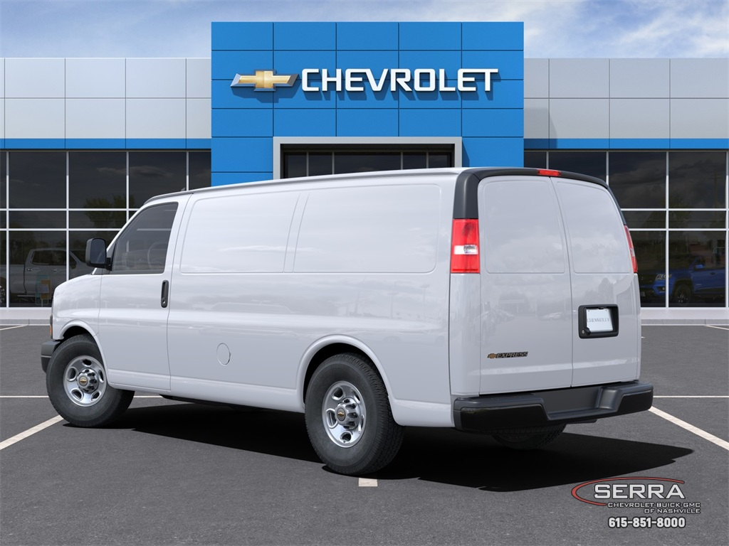 2021 Chevrolet Express 2500 4x2, Empty Cargo Van #C12555 - photo 4