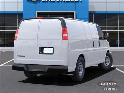 2021 Chevrolet Express 2500 4x2, Empty Cargo Van #C12558 - photo 2