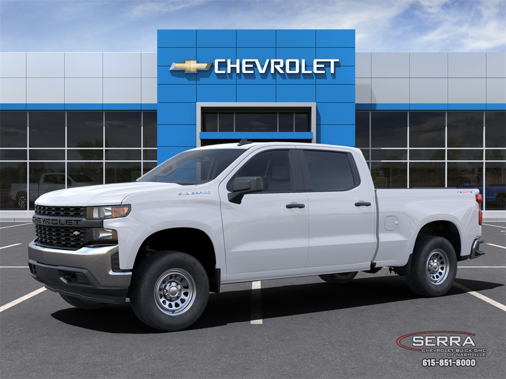 2021 Chevrolet Silverado 1500 Crew Cab 4x4, Pickup #C12577 - photo 3