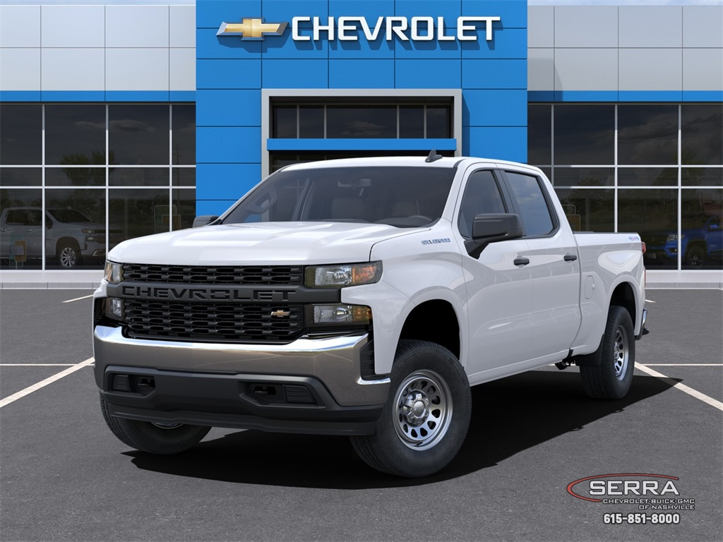 2021 Chevrolet Silverado 1500 Crew Cab 4x4, Pickup #C12577 - photo 6