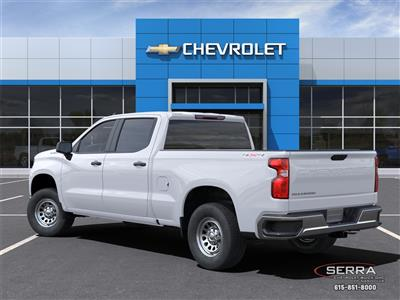 2021 Chevrolet Silverado 1500 Crew Cab 4x4, Pickup #C12577 - photo 4
