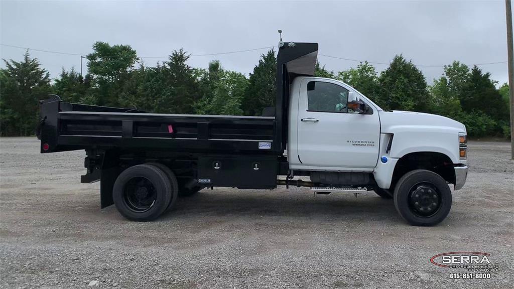 2021 Chevrolet Silverado 4500 Regular Cab DRW 4x4, Freedom Dump Body #C12584 - photo 9