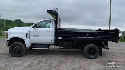 2021 Chevrolet Silverado 4500 Regular Cab DRW 4x4, Freedom Dump Body #C12584 - photo 6
