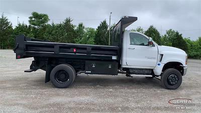 2021 Chevrolet Silverado 4500 Regular Cab DRW 4x4, Freedom Dump Body #C12649 - photo 9