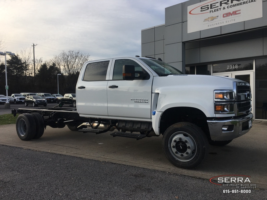 2020 Chevrolet Silverado 5500 Crew Cab DRW 4x4, Knapheide Steel Service Body #C201809 - photo 1