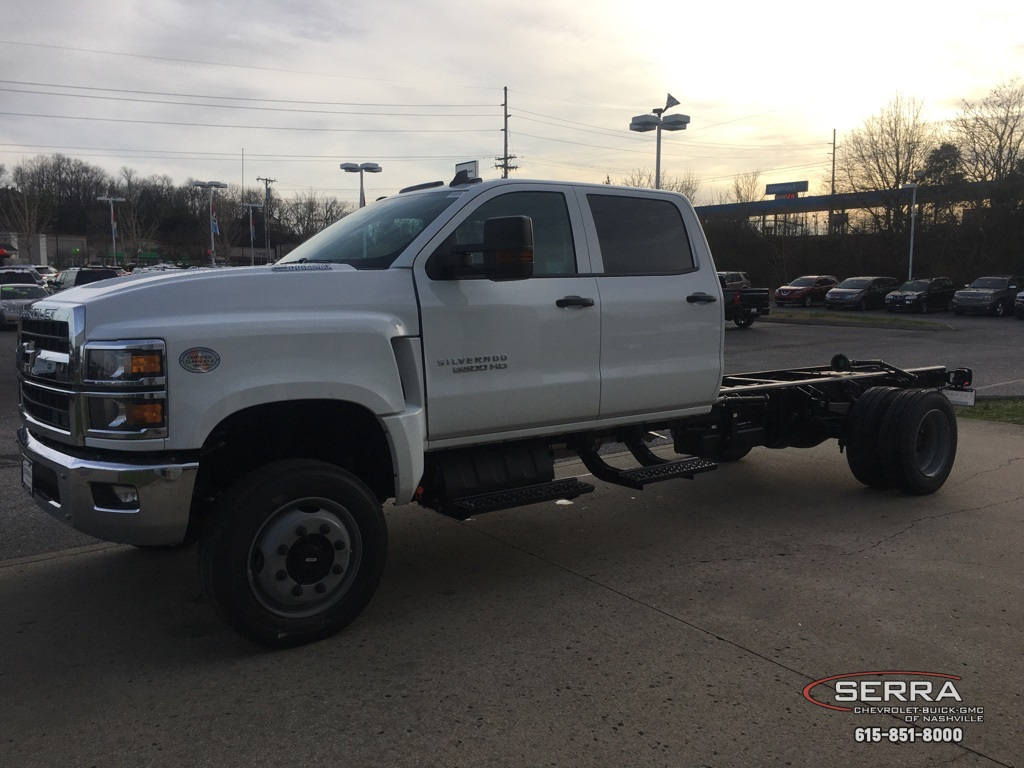 2020 Chevrolet Silverado 5500 Crew Cab DRW 4x4, Knapheide Steel Service Body #C201809 - photo 4