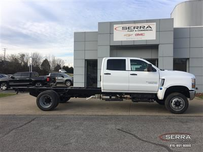 2020 Chevrolet Silverado 5500 Crew Cab DRW 4x4, Knapheide Steel Service Body #C201809 - photo 7