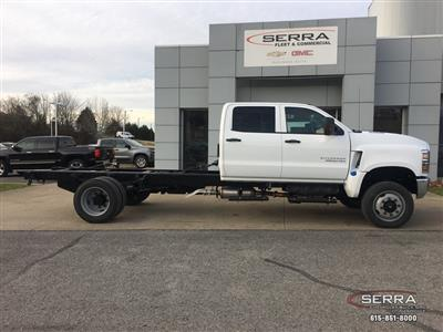 New 2020 Chevrolet Silverado 4500 Cab Chassis For Sale In
