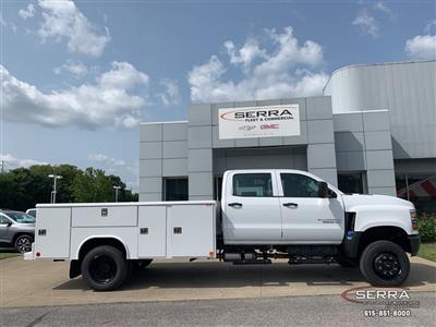 2020 Chevrolet Silverado 5500 Crew Cab DRW 4x4, Reading Classic II Steel Service Body #C203000 - photo 7