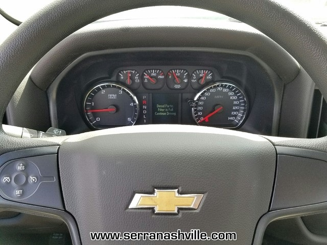 2017 Silverado 3500 Regular Cab DRW 4x4,  Reading Classic II Aluminum  Service Body #C72066 - photo 9